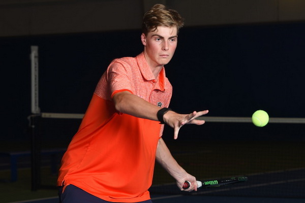 Lewis Edwards: 'I would love to go to dinner with Roger Federer, Rod Laver, and Nelson Mandela.'