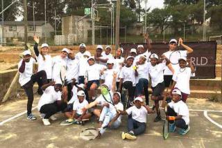 Tennis World Foundation - A COURSE FOR 35 KIDS IN KAYAMANDI