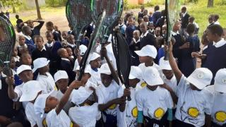 TANZANIA DISCOVERS LOVE FOR TENNIS