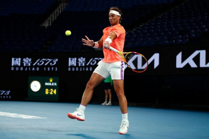 ATP Australian Open: Rafael Nadal joins Novak Djokovic in the quarters