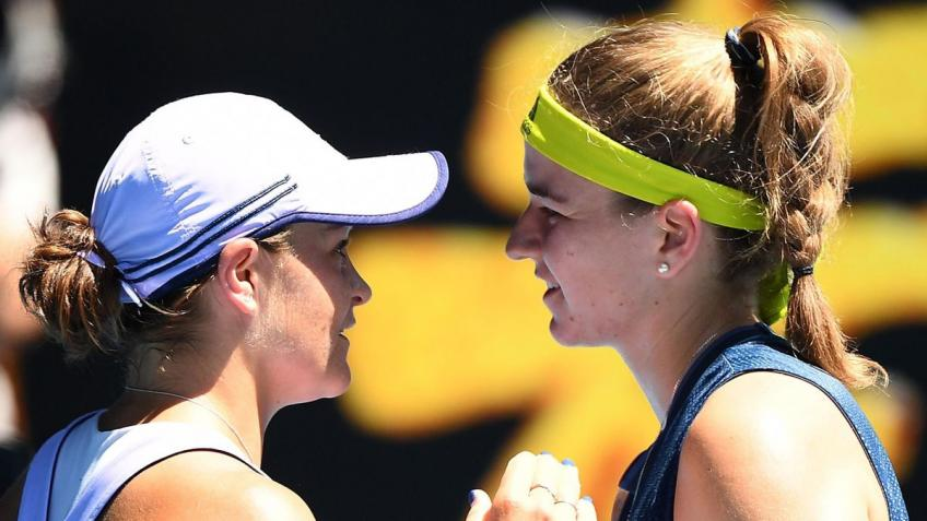 "Ashleigh Barty: ""It's an heartbreaking defeat, but ..."""