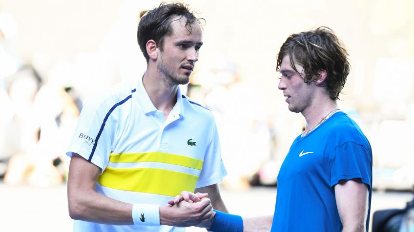 Daniil Medvedev: Andrey Rublev is something like a Duracell battery