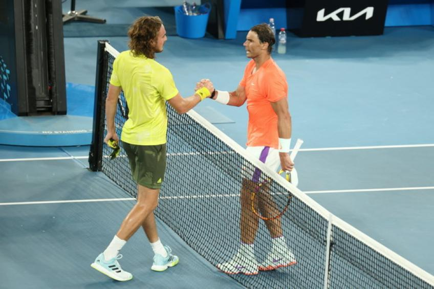 'Rafael Nadal played a great match, it was bad luck,' says Mats Wilander