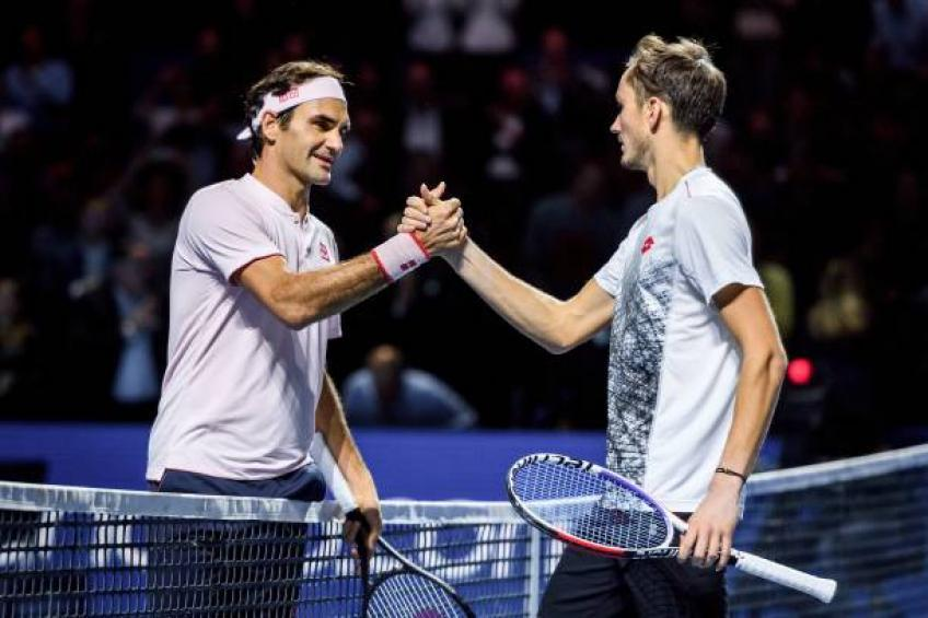 Daniil Medvedev: It's a pity that Roger Federer is not playing