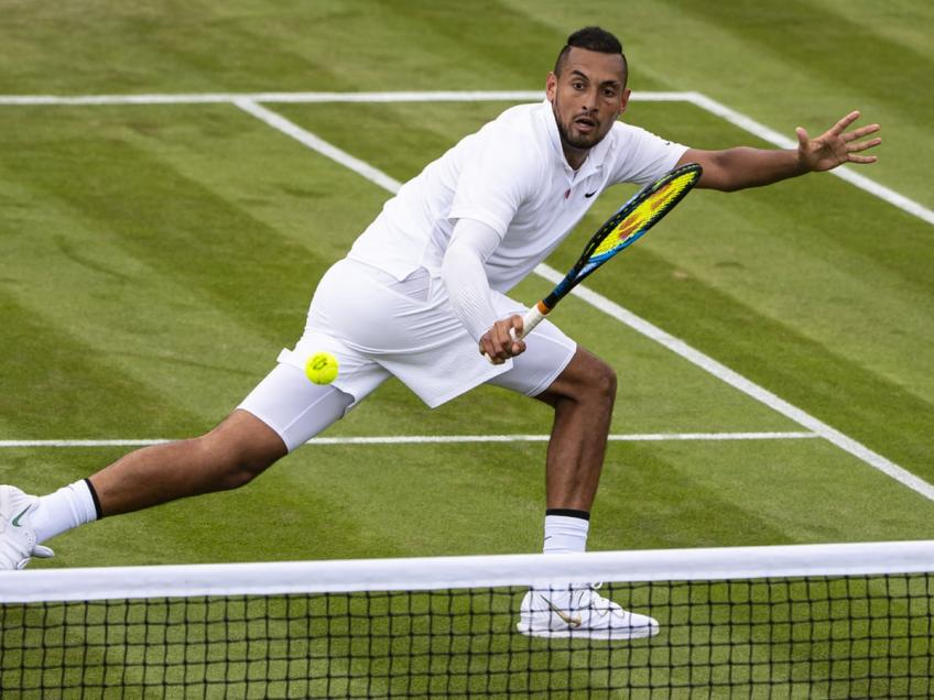 "Boris Becker: ""Nick Kyrgios can win Wimbledon"""