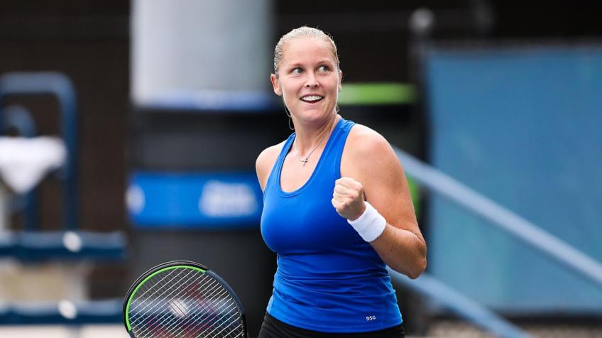 Adelaide International: Shelby Rogers upsets Johanna Konta in 2R