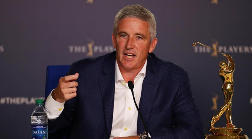 "Jay Monahan: ""We will support Tiger Woods"""