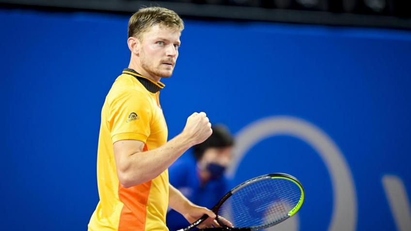 David Goffin 'thrilled' after winning his first ATP title since 2017