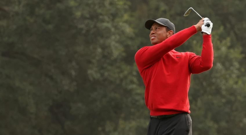 "Tiger Woods: ""Thanks, it was a touching day"""