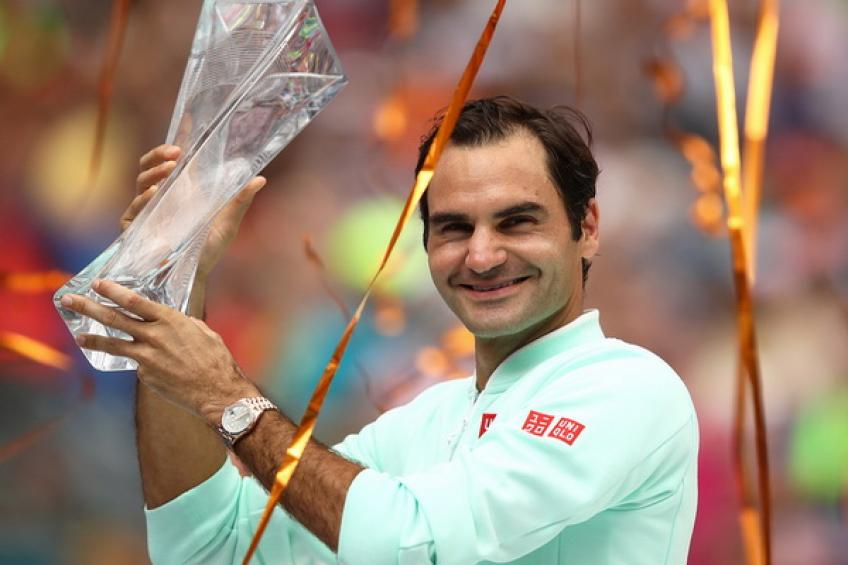Roger Federer withdraws from Miami and loses 1000 points