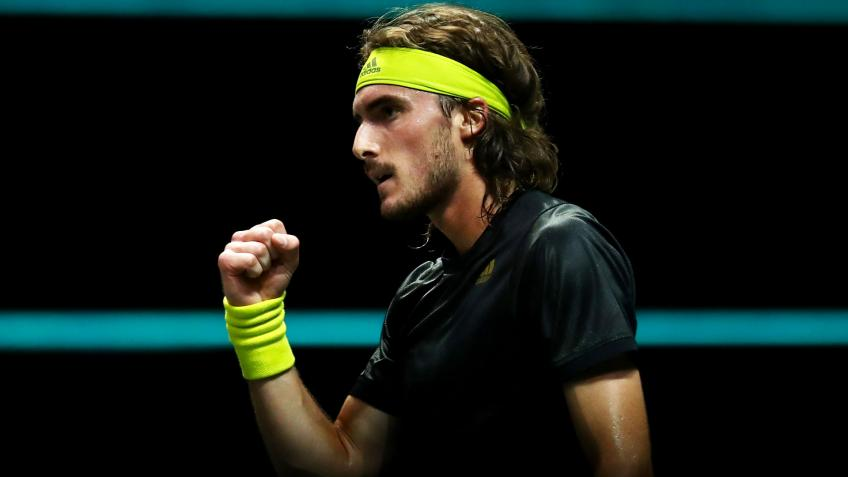 Stefanos Tsitsipas reflects on tough first round win in Rotterdam