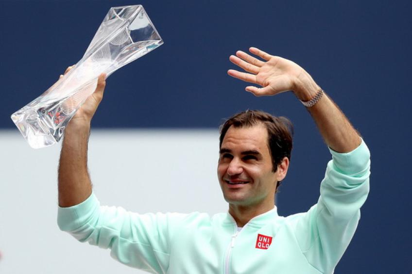 'Roger Federer is incredible. The longer he plays, the better,' says Miami TD