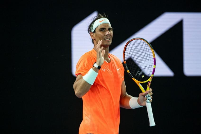 Rafael Nadal drops out of top-2, as Daniil Medvedev writes history