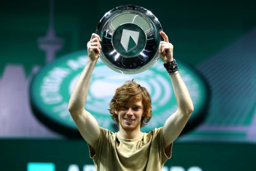 ATP Rotterdam: Andrey Rublev tops Fucsovics to follow Federer and Murray