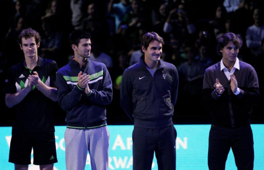 Former No. 1 reveals why Roger Federer, Nadal, Djokovic are tough to beat
