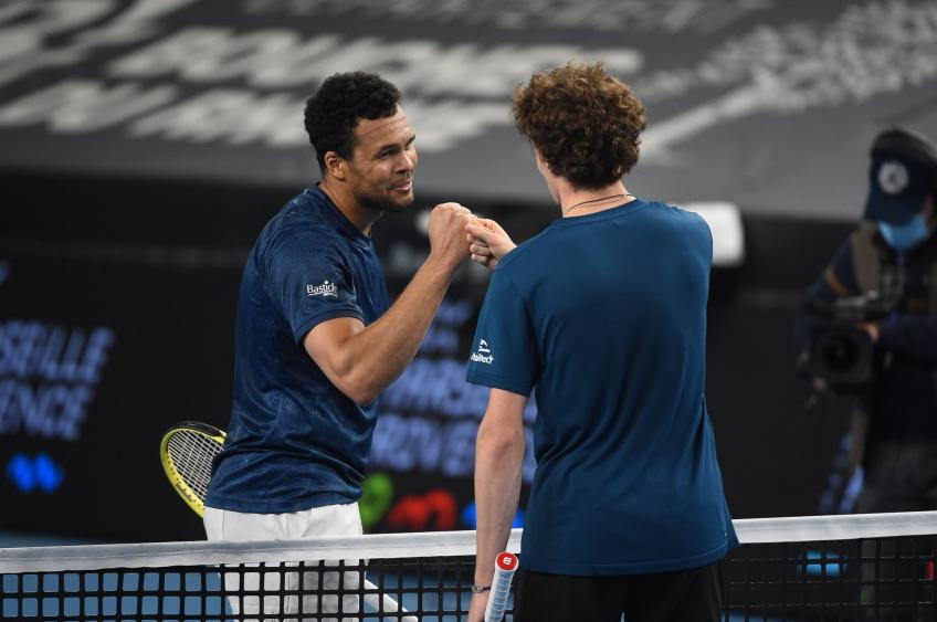 Ugo Humbert shows respect for Jo-Wifried Tsonga after Marseille clash
