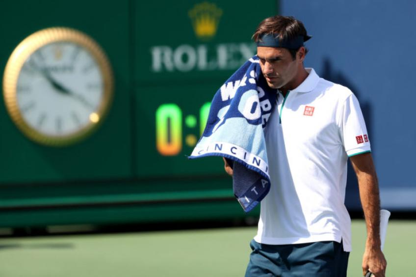 Roger Federer: 'In my normal life, everything was improvised based...'