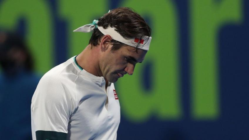 'Eventually I feel Roger Federer's going to get back on his feet and...', says star