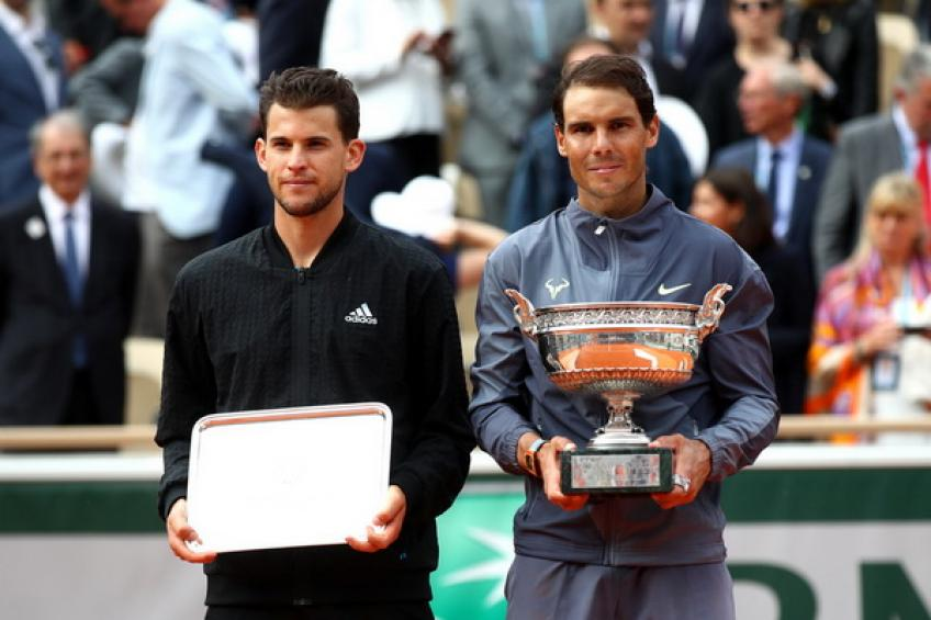 'Rafael Nadal and Dominic Thiem are already thinking about clay,' says David Goffin
