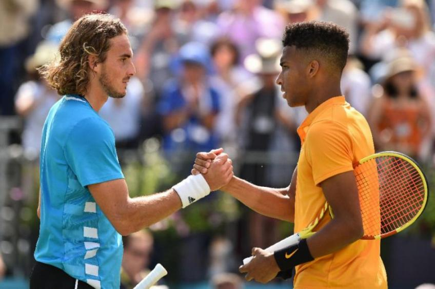 Stefanos Tsitsipas 'confident' he and Auger-Aliassime could form 'great rivalry'