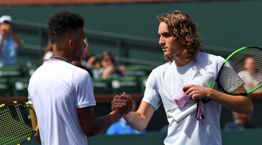 Felix Auger-Aliassime: Always a big challenge to play Stefanos Tsitsipas