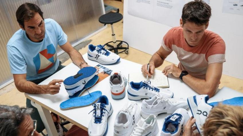 The new Roger Federer Pro shoes!