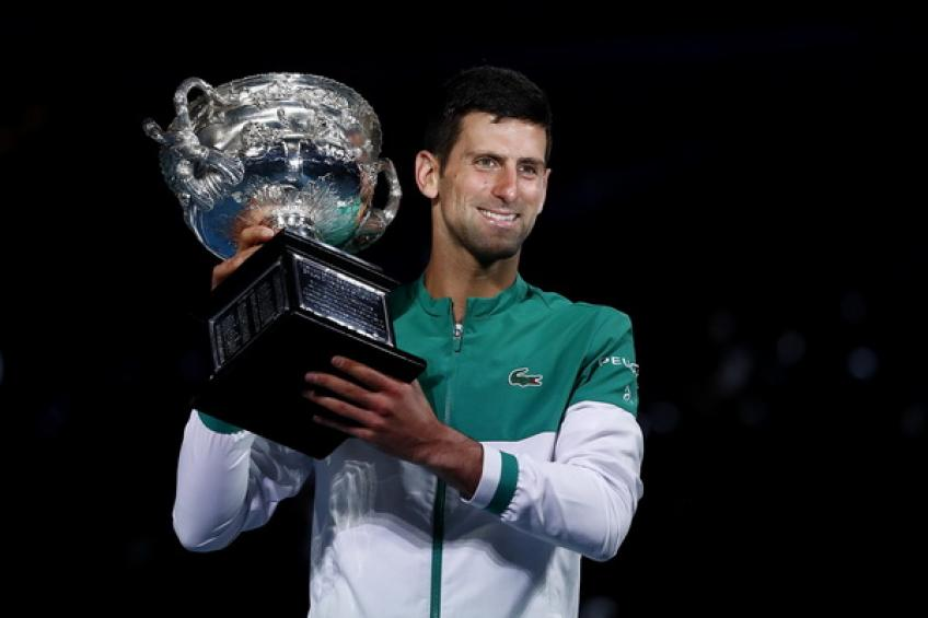 'I'm not with Novak Djokovic and I'm not 100%...', says ATP star