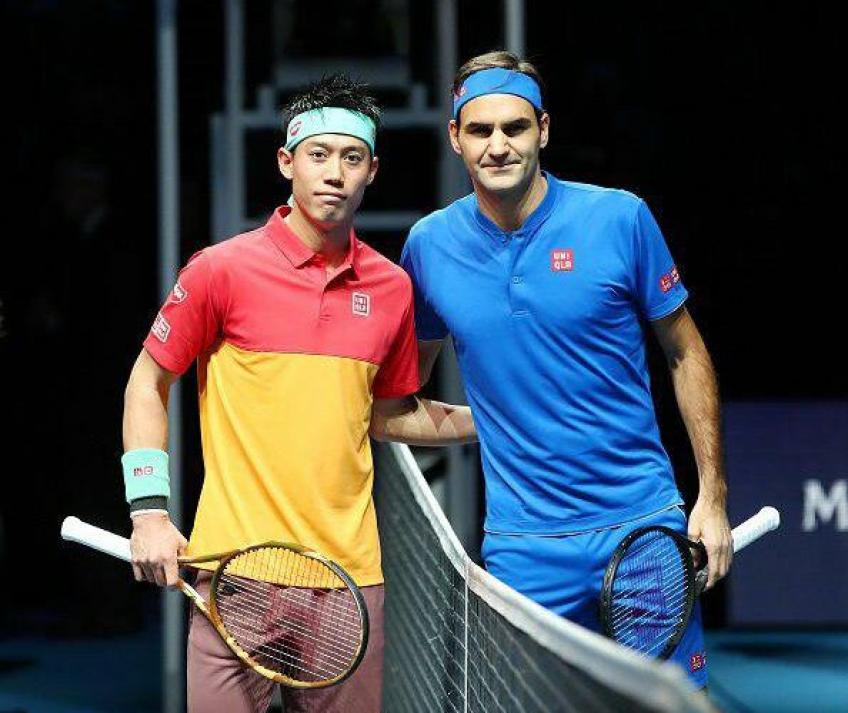 """Kei Nishikori: """"It was great to see Roger Federer on the court"""""""