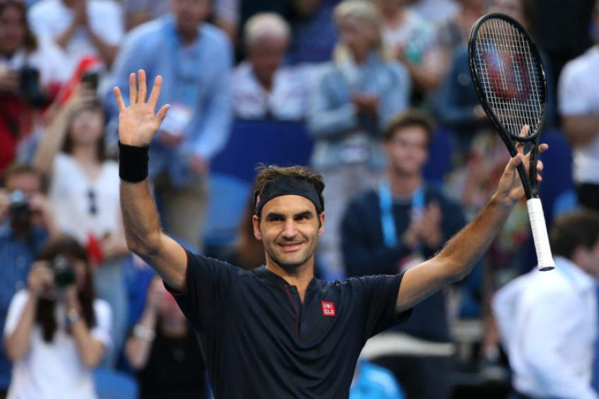 'That's really nice because Roger Federer, Nadal, Djokovic have...', says ATP ace