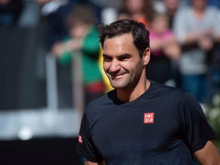 Roger Federer: 'I am aware that this is only a drop in the ocean'
