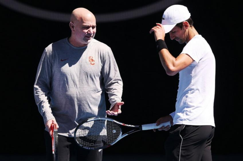 'I couldn't help Novak Djokovic. That's why we quit,' says Andre Agassi