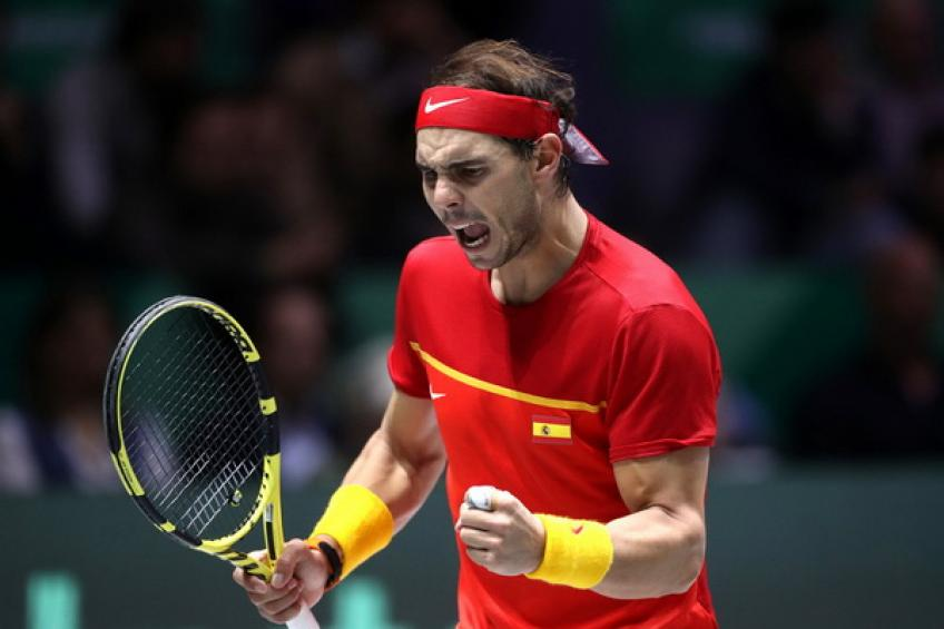 'Rafael Nadal proved too strong for Denis Shapovalov, but it was tight,' says..