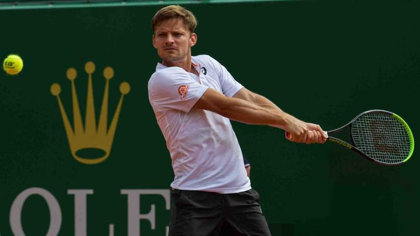 David Goffin happy with his start to clay season at Monte Carlo Masters