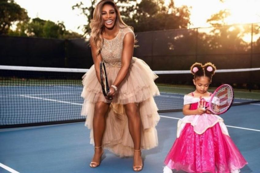 Serena Williams and Olympia stars of Instagram