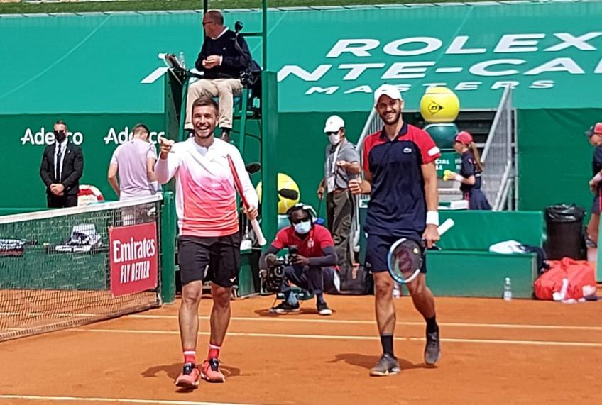 Nikola Mektic, Mate Pavic react to winning Monte Carlo doubles title