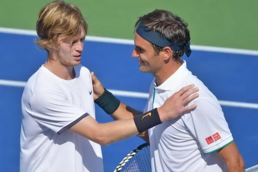 'Roger Federer's behavior had stronger impact than my win,' says Andrey Rublev