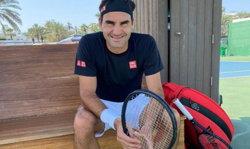 Roger Federer: 'Down there I'm not a tennis star, I'm just Roger'
