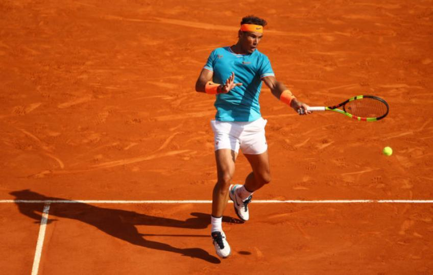 Rafael Nadal: 'I feel comfortable with the service again thanks...'