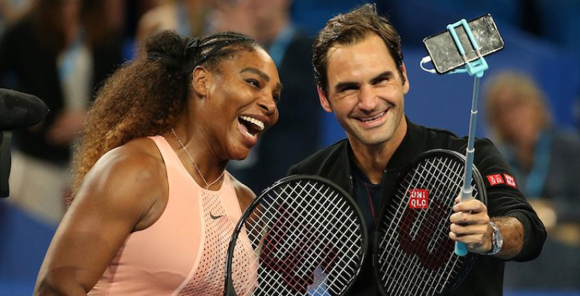 Roger Federer and Serena Williams for a sustainable world