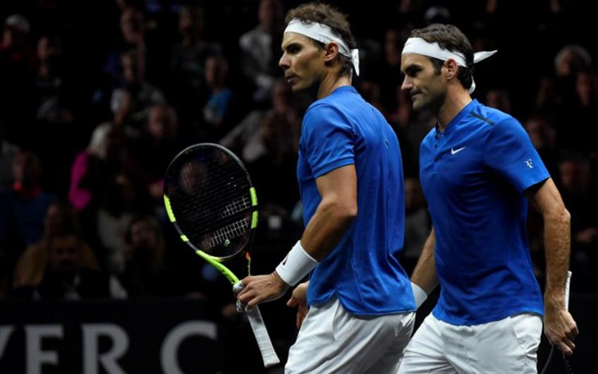 'If Roger Federer and Nadal were both playing the same way...', says huge actor