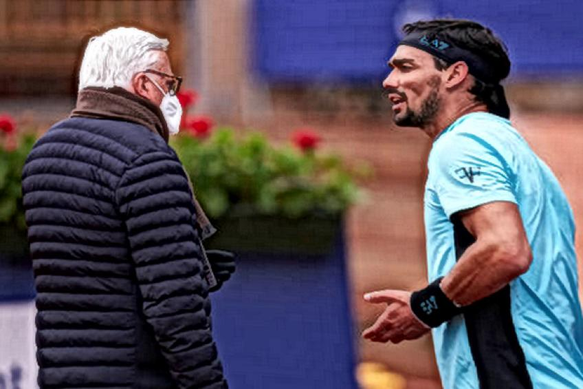 ATP Barcelona: Fabio Fognini experiences first default after insulting a linesman