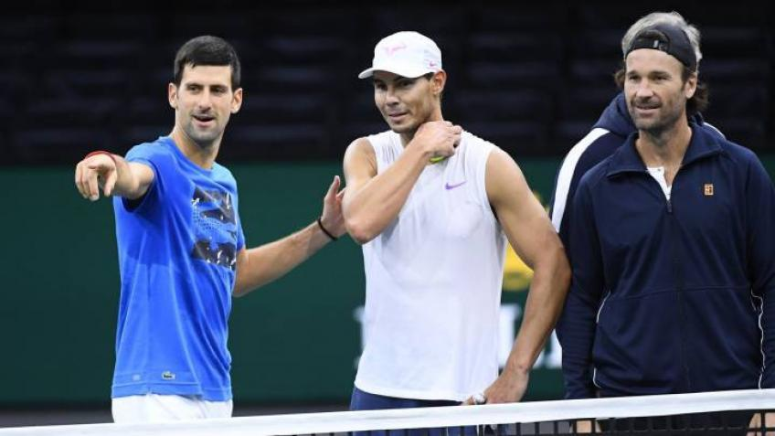 Novak Djokovic: 'Rafael Nadal and I tend to play the best in...'