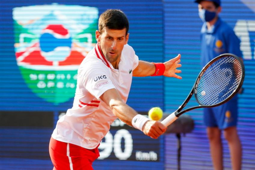 ATP Serbia Open: Novak Djokovic downs Miomir Kecmanovic to reach semis