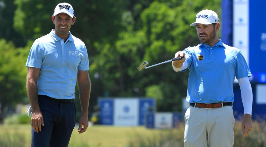 Louis Oosthuizen and Charl Schwartzel rise
