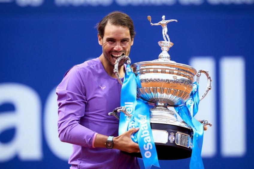 Rafael Nadal: 'I don't know if it was a setback, he generally plays...'