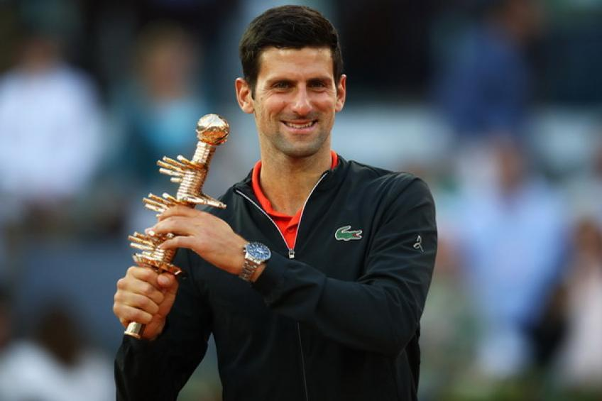 Novak Djokovic reportedly withdraws from Madrid and won't defend the title