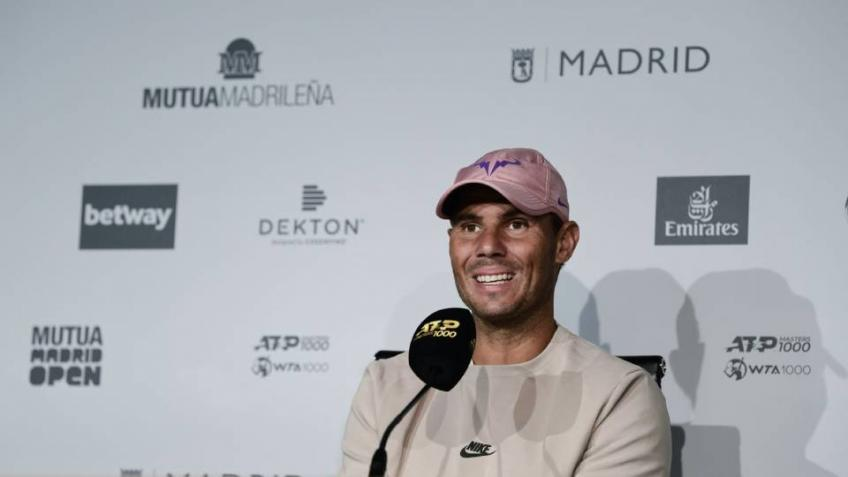 Rafael Nadal reflects on his body's reaction to the rigors of the tour