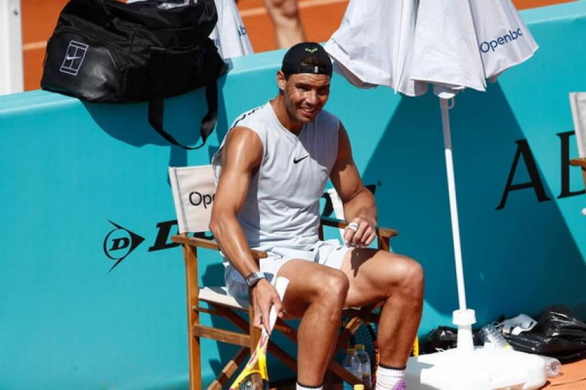 """'Rafael Nadal plays at a high level at 34, and he is hungry for more,"""" says Lopez"""