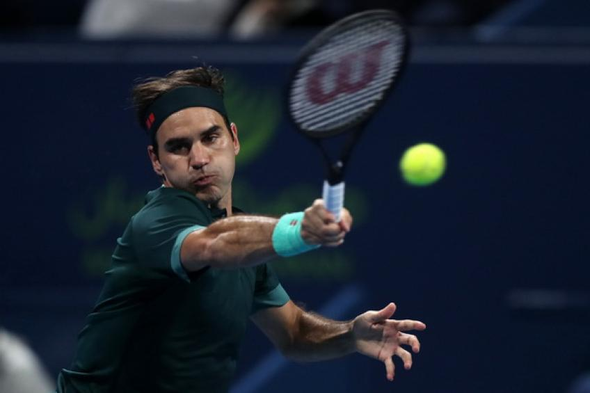 'Roger Federer is almost 40, and his movement is still outstanding,' says Karatsev