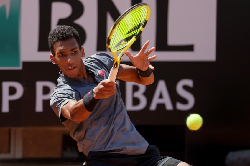 Felix Auger-Aliassime reflects on tight Rome Masters opener